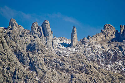 Photograph - Velebit Mountain National Park Stone Sculptures by Brch Photography