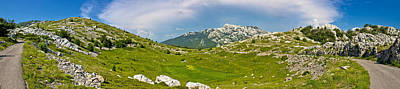 Photograph - Velebit Mountain Wilderness Panoramic View by Brch Photography