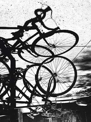 Photograph - Velo A L'envers by Valerie Rosen