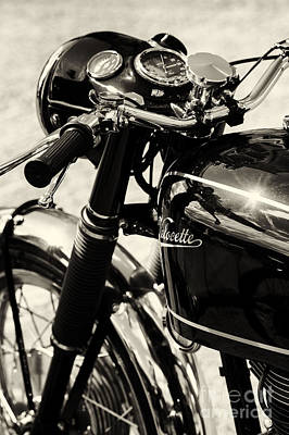 Venom Photograph - Velocette Venom by Tim Gainey