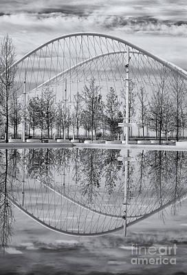 Velodrome Photograph - Velodrome Reflection by Grigorios Moraitis