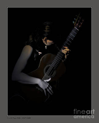 Photograph - Velvet Chords by Pedro L Gili