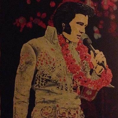 Elvis Photograph - #velvet #elvis #velvetelvis by J Hannele