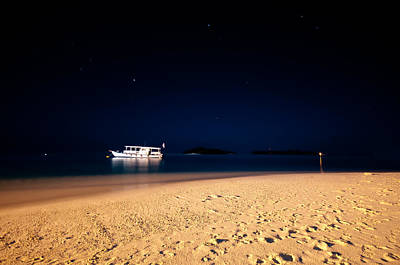 Photograph - Velvet Night On The Island by Jenny Rainbow
