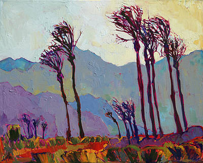 Painting - Velvet Palms by Erin Hanson
