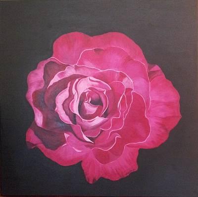 Painting - Velvet Petals by Carol De Bruyn