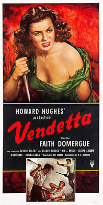 Torn Clothing Photograph - Vendetta, Us Poster Art, Top Faith by Everett