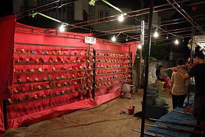 Seller Photograph - Vendors - Night Street Market - Chiang Mai Thailand - 011318 by DC Photographer