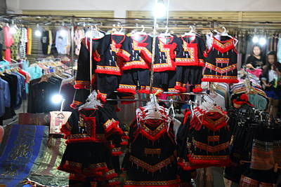Vendor Photograph - Vendors - Night Street Market - Chiang Mai Thailand - 01136 by DC Photographer