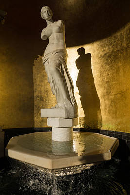 Venus De Milo Photograph - Venera And Her Shadow by Georgia Mizuleva