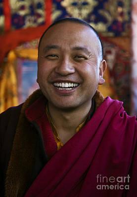 Photograph - Venerable Nuptul Tenpei Nyima - Nepal by Craig Lovell