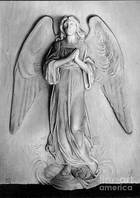 Drawing - Venetian Angel by Nicola Butt