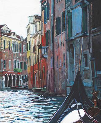 Painting - Venetian Backwater by Helen White