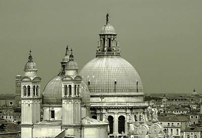 Domes Of Venice Photograph - Venetian Basilica Salute by Julie Palencia