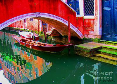 Photograph - Venetian Canal I by Kelly Borsheim