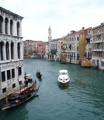 Photograph - Venetian Canal  by Kristine Bogdanovich