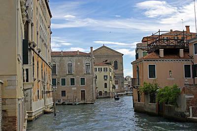 Photograph - Venetian Canal by Tony Murtagh