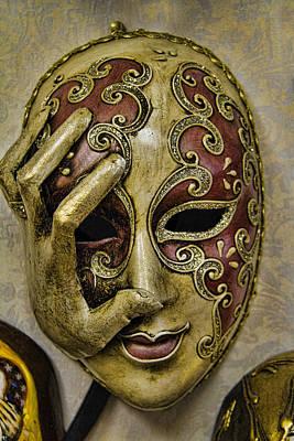 Creative Charisma - Venetian Carnaval Mask by David Smith