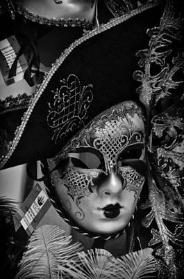 Venetian Carnival Mask Art Print by Tom Bell