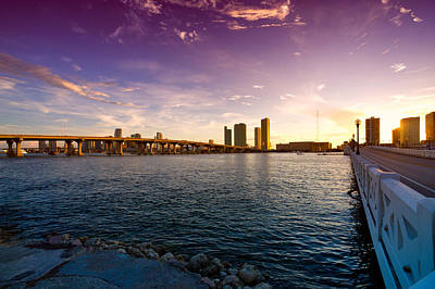 Photograph - Venetian Causeway by Celso Diniz