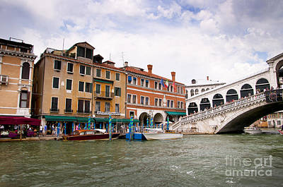 Photograph - Venetian Cruise by Brenda Kean