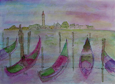 Painting - Venetian Dream by Oscar Penalber