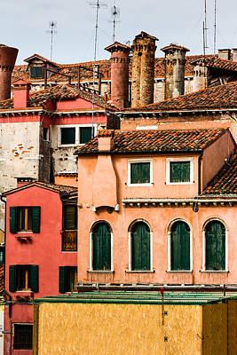 Venetian Facade Art Print