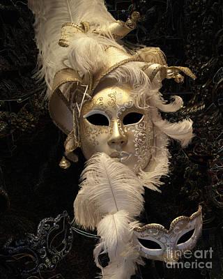 Carneval Photograph - Venetian Face Mask B by Heiko Koehrer-Wagner