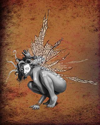 Jester Digital Art - Venetian Fairy by Kd Neeley