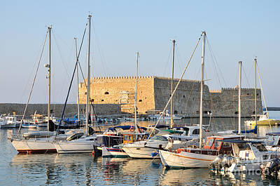 Photograph - Venetian Fortress In Iraklio City by George Atsametakis