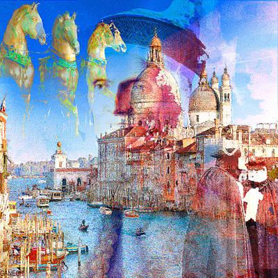 Venetian Intrigue Print by GANECH Graphics