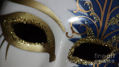 Photograph - Venetian Mask by Eva-Maria Di Bella