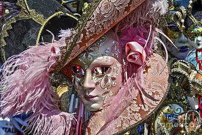 Detalhes Photograph - Venetian Mask by Mare Moraes