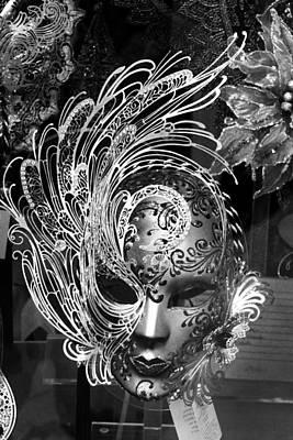 Venetian Mask Art Print by Tom Bell