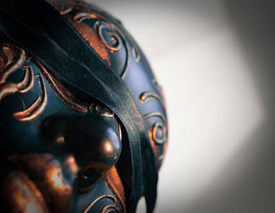 Photograph - Venetian Mask by Vlad Baciu