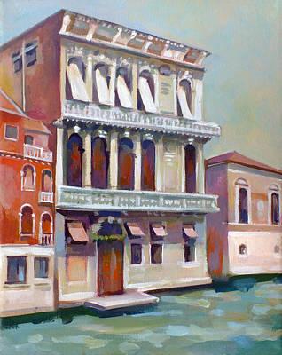Venetian Palace Original by Filip Mihail