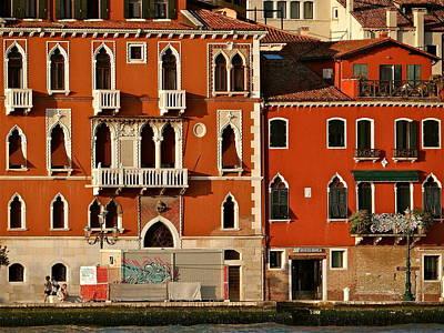 Venetian Red Art Print by Ira Shander