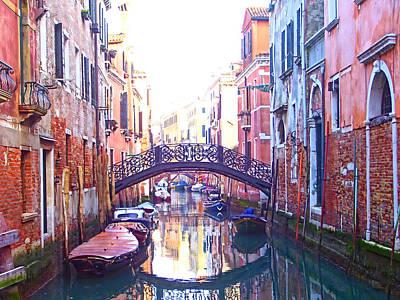 Photograph - Venetian Reflections by Christiane Kingsley