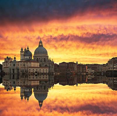Photograph - Venetian Reflections by Gurgen Bakhshetsyan