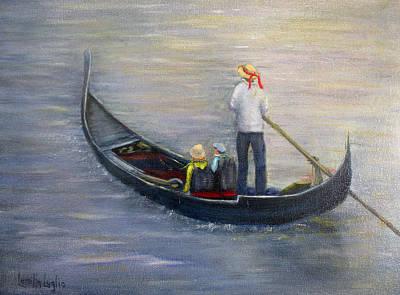 Painting - Venetian Seranade by Loretta Luglio