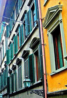 Photograph - Venetian Shutters by Phillip Allen