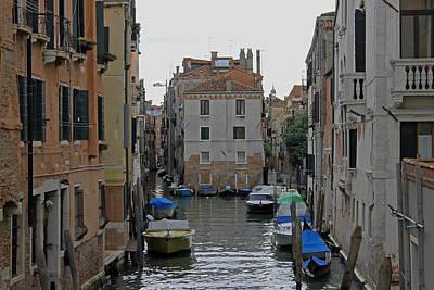 Photograph - Venetian Side Street by Tony Murtagh