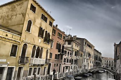 Photograph - Venetian Style by Indiana Zuckerman