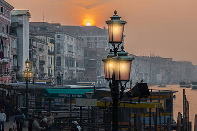 Photograph - Venezia Al Crepuscolo by Juan Carlos Ferro Duque