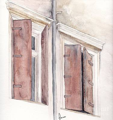 Painting - Venezia by Annemeet Hasidi- van der Leij