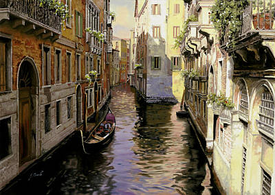 Balconies Painting - Venezia Chiara by Guido Borelli