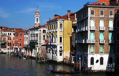 Venezia Colors Art Print by John Rizzuto