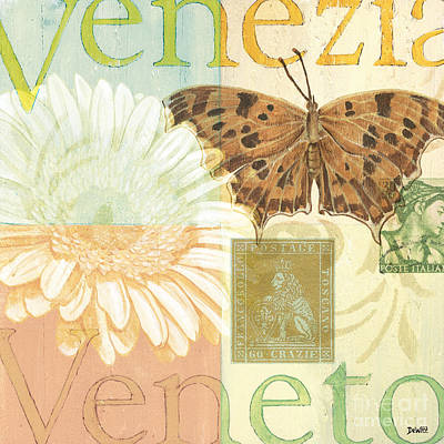 Patch Painting - Venezia by Debbie DeWitt