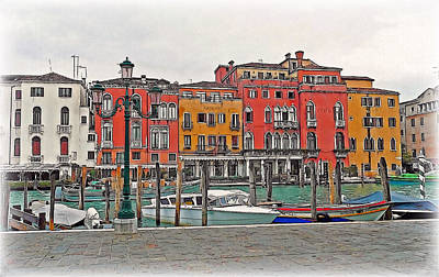 Digital Art - Venezia by Hanny Heim
