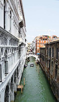 Photograph - Venezia Palazzo Ducale Canale by Irina Sztukowski